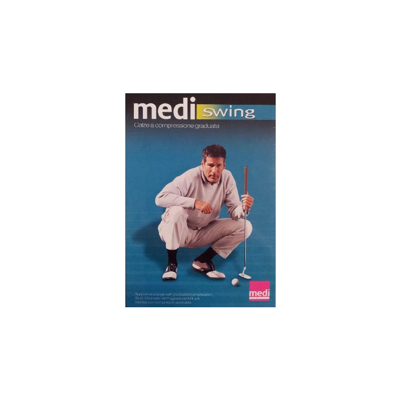 Medi - Gambaletto Microfibra Uomo 18 mmHg