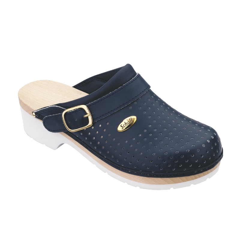 Scholl - Clog Supercomfort Blue