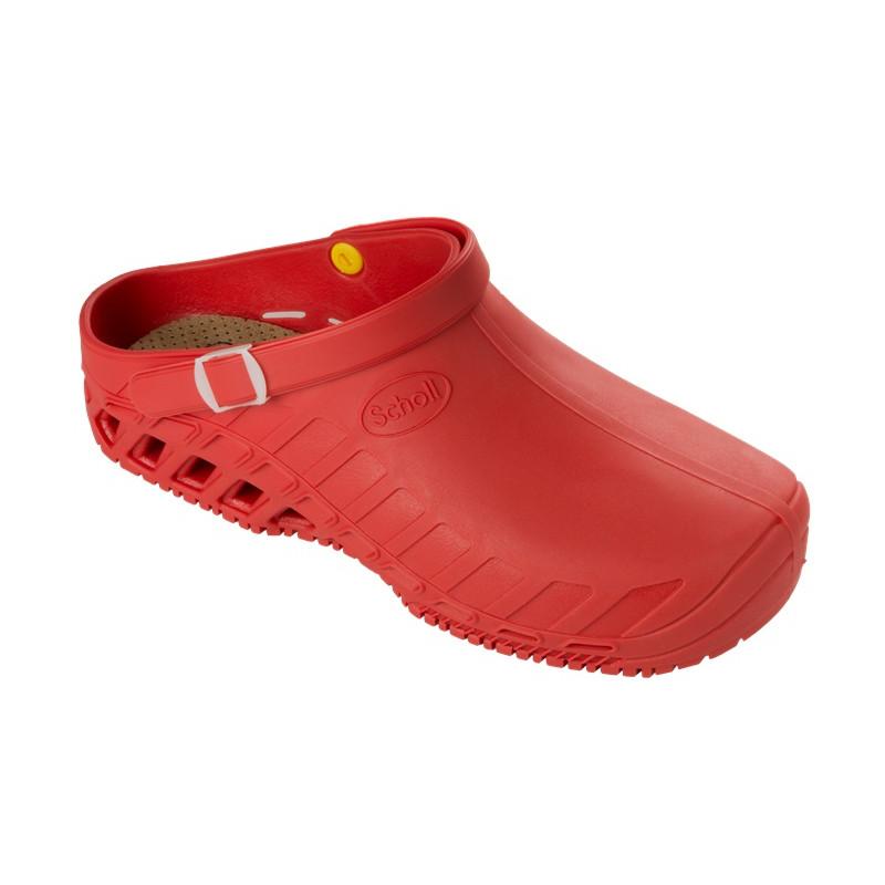 Scholl - Clog Evo Rosso