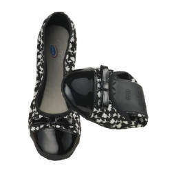 Scholl - Pocket Ballerina Black/White