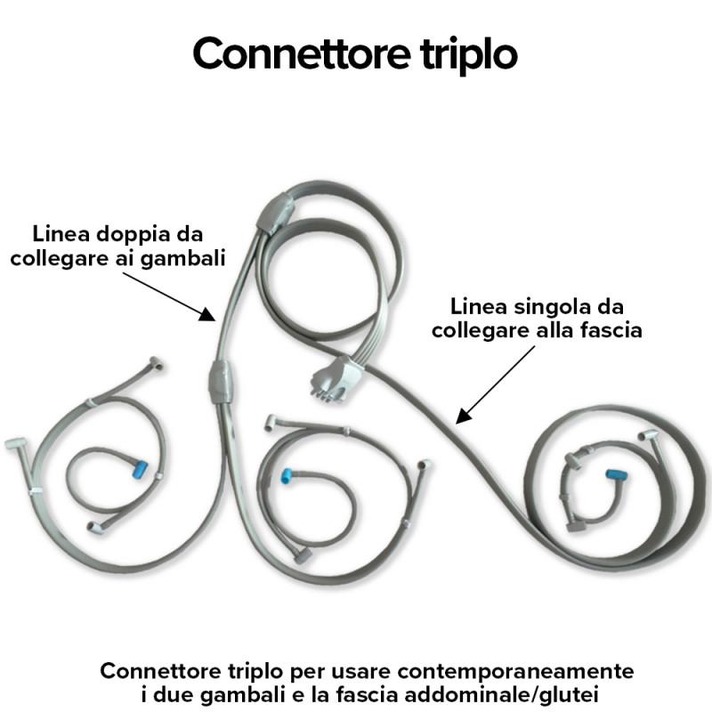 Mesis - Connettore Triplo