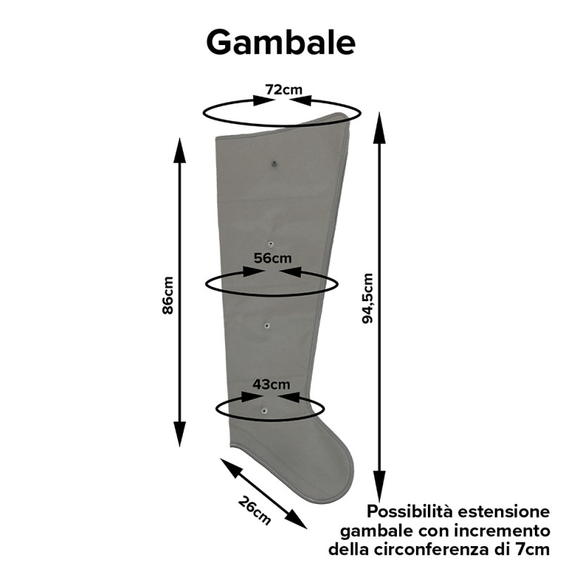 Mesis - Gambale Six (senza connettore)