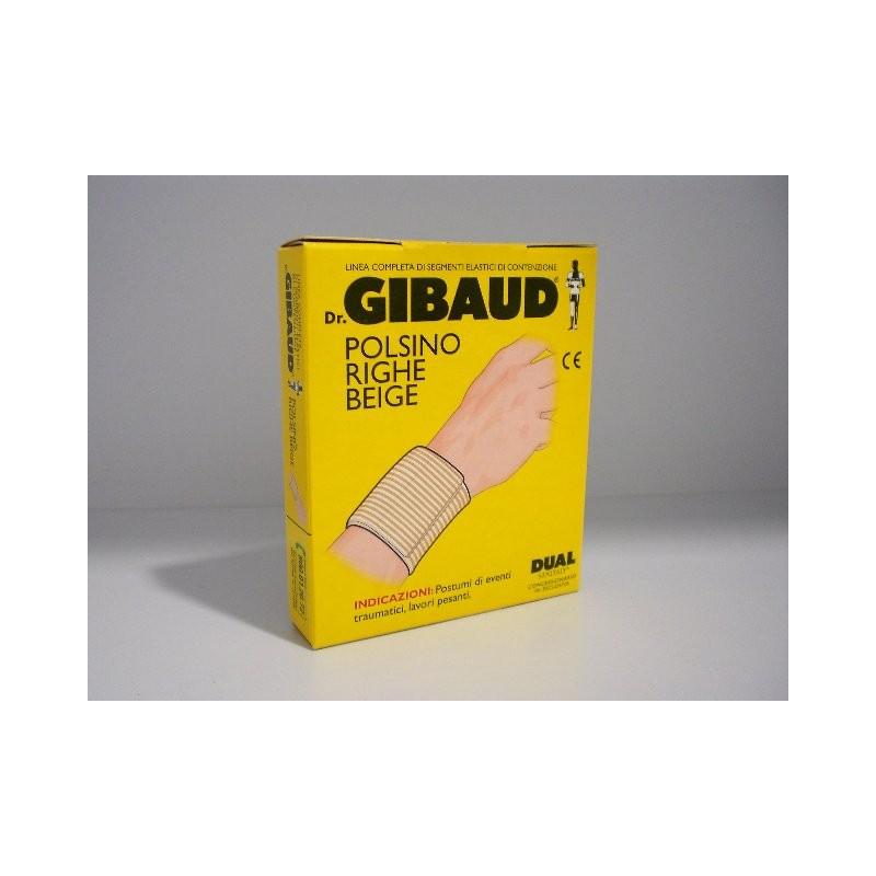Dr. Gibaud - Polsino Righe Beige Cm.8